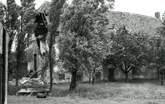 BR_DERIK_HUISTERUGGE_019 Afbraak van het Huis te Rugge; 1968