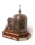 BR_DERIK_WATERSCHAP_278 Zilveren trofee van de koepel Zeeburg, vervaardigd in 1951; 2004