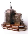 BR_DERIK_WATERSCHAP_279 Zilveren trofee van de koepel Zeeburg, vervaardigd in 1951; 2004