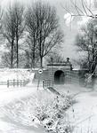 BR_POORTEN_KAAIPOORT_024 De Kaaipoort in sneeuwlandschap; 14 februari 1991