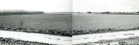 BR_ROCHUSMEEUWISZOONWEG_029 Het terrein waar de jachthaven M.H. Tromp zal worden aangelegd; April 1973