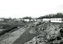 BR_ROCHUSMEEUWISZOONWEG_031 Het graven van de jachthaven M.H. Tromp; April 1973