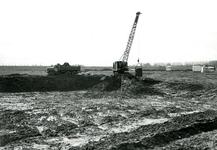 BR_ROCHUSMEEUWISZOONWEG_039 Het graven van de jachthaven M.H. Tromp; April 1973