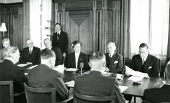 BR_STICHTINGBRIELSEMAAS_003 Het passeren van de notariële akte tot oprichting van de Stichting Recreatie Brielse Maas ...
