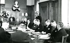 BR_STICHTINGBRIELSEMAAS_004 Het passeren van de notariële akte tot oprichting van de Stichting Recreatie Brielse Maas ...