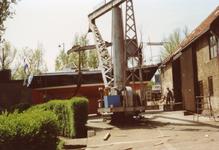 BR_TURFKADE_147 Bij Scheepswerf Delta van Van der Torren wordt de Walrus te water gelaten; ca. 1990