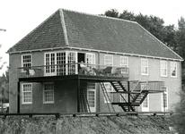 BR_VEERWEG_016 Achterzijde van het voormalige Oude Veerhuis; ca. 1973
