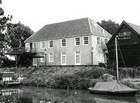 BR_VEERWEG_017 Achterzijde van het voormalige Oude Veerhuis; ca. 1973