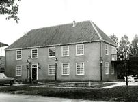 BR_VEERWEG_018 Voorzijde van het voormalige Oude Veerhuis; ca. 1973