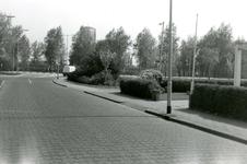 BR_WELLEWEG_007 Kijkje op de Welleweg ter hoogte van de kruising met de Schrijversdijk; ca. 1978