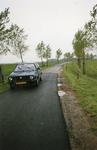 HV_KONIJNENDIJK_01 Inspectie op de Konijnendijk over de staat van de wegbermen; 15 oktober 1987