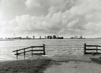 HV_WATEROVERLAST_059 Hoog water in de polder van Heenvliet na overvloedige regenval; 16 september 1998