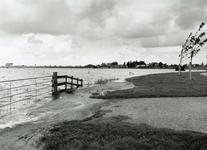 HV_WATEROVERLAST_066 Hoog water in de polder van Heenvliet na overvloedige regenval; 16 september 1998