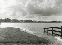 HV_WATEROVERLAST_067 Hoog water in de polder van Heenvliet na overvloedige regenval; 16 september 1998