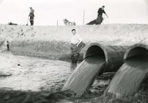 HK_BERENPLAAT_002 Hekelingen; Afdamming van het Beregat bij de Berenplaat, ca. 1965