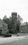 HE_OPZOOMERLAAN_018 Hellevoetsluis; De watertoren langs de Opzoomerlaan, Juli 1972