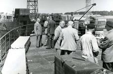 HE_RTM_002 De verbouw van een veerboot tot zijladingsveerboot Haringvliet voor de RTM bij de Amsterdamse Werf Verschure; 1956