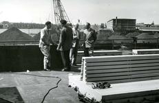 HE_RTM_006 De verbouw van een veerboot tot zijladingsveerboot Haringvliet voor de RTM bij de Amsterdamse Werf Verschure; 1956
