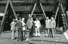 HE_RTM_012 De verbouw van een veerboot tot zijladingsveerboot Haringvliet voor de RTM bij de Amsterdamse Werf Verschure; 1956