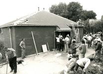 HE_STRUYTSEHOECK_013 De bouw van de Koninkrijkszaal van de Jehovahs; 30 juni 1988