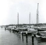NS_JACHTHAVEN_02 De jachthaven bij Nieuwesluis; 12 mei 1960