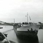 OV_BRIELSEMAASDAM_13 Oostvoorne; Werkzaamheden voor de aanleg van de Brielse Maasdam, ca. 1950