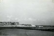 OV_BRIELSEMAASDAM_24 Oostvoorne; Werkzaamheden voor de aanleg van de Brielse Maasdam, ca. 1950