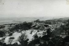 OV_BRIELSEMAASDAM_25 Oostvoorne; Werkzaamheden voor de aanleg van de Brielse Maasdam, ca. 1950