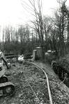OV_GROENEWEG_03 Aanleg van buizen langs het Overbos; 11 april 1985