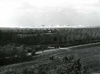 OV_HEINDIJK_07 Oostvoorne; Vanaf de Heindijk / Oosterlandsedijk nabij hoek Bollaardsdijk kijkend richting Europoort. Op ...
