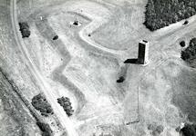 OV_HEINDIJK_61 Oostvoorne; Luchtfoto van het Stenen Baak en de Kogeloven, ca. 1962