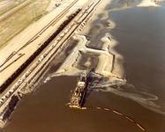 OV_LUCHTFOTO_20 Maasvlakte in aanleg; ca. 1988