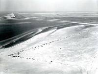 OV_LUCHTFOTO_22 Luchtfoto van het autostrand; 7 augustus 1969
