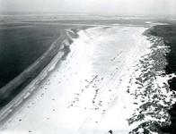 OV_LUCHTFOTO_26 Luchtfoto van het autostrand; 7 augustus 1969
