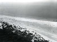 OV_LUCHTFOTO_28 Luchtfoto van het autostrand; 7 augustus 1969