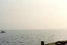 OV_OOSTVOORNSEMEER_02 Oostvoorne; Uitzicht over het Oostvoornse Meer, 1994