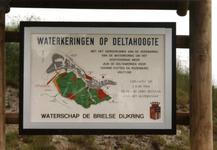 OV_OOSTVOORNSEMEER_08 Oostvoorne; Onthulling van het bord naar aanleiding van het gereedkomen van de verzwaring van de ...