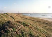 OV_OOSTVOORNSEMEER_15 Oostvoorne; Afschermingswal langs het Oostvoornse Meer, 1988