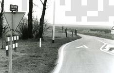 OV_RIETDIJK_06 De Rietdijk, gezien vanaf de Westvoornseweg richting Kranenhout; Februari 1988