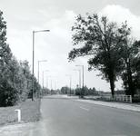 OV_SCHRIJVERSDIJK_16 De Schrijversdijk nabij Brielle, op de achtergrond de watertoren; 11 juli 1963
