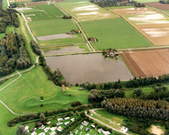 OV_WATEROVERLAST_002 Oostvoorne; Ondergelopen weilanden als gevolg van de zware regenval in september 1998. Op de ...