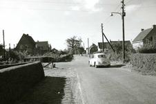 OV_ZANDWEG_02 De Zandweg ter hoogte van de kruising met de Polderslaan; ca. 1960