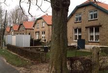 OV_ZANDWEG_04 Aanbouw van tien nieuwe woningwetwoningen langs de Zandweg, met daarvoor de te slopen woningen; 1987