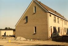 OV_ZANDWEG_10 Aanbouw van tien nieuwe woningwetwoningen langs de Zandweg, als bouwproject voor leerlingen; 1987
