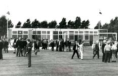 OH_EEWEG_04 Viering van een jubileum op het voetbalveld van Oudenhoorn; 26 augustus 1969
