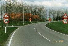 OH_RUIGENDIJK_03 De kruising Ruigendijk, Haasdijk en Achterdijk; 4 maart 1992