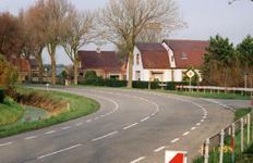 RO_BOOMWEG_07 De kruising van de Boomweg en de Verlengde Lodderlandsedijk. De woning van W. Zwinkels, die in 2007 is ...