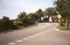 RO_BOOMWEG_08 De kruising van de Boomweg en de Verlengde Lodderlandsedijk. De woning van W. Zwinkels, die in 2007 is ...