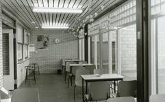 RO_DWARSWEG_45 Opening van de sporthal De Merel. Interieur sporthal; 31 oktober 1973