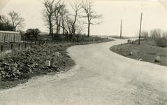 RO_KORTEWEG_22 Aansluiting Korteweg met de Vleerdamsedijk; ca. 1970